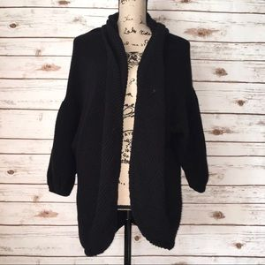 Moth Anthropologie Open Front Cardigan Size L